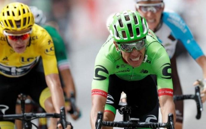 Rigoberto Urán ahora es segundo en la clasificación general del Tour de Francia