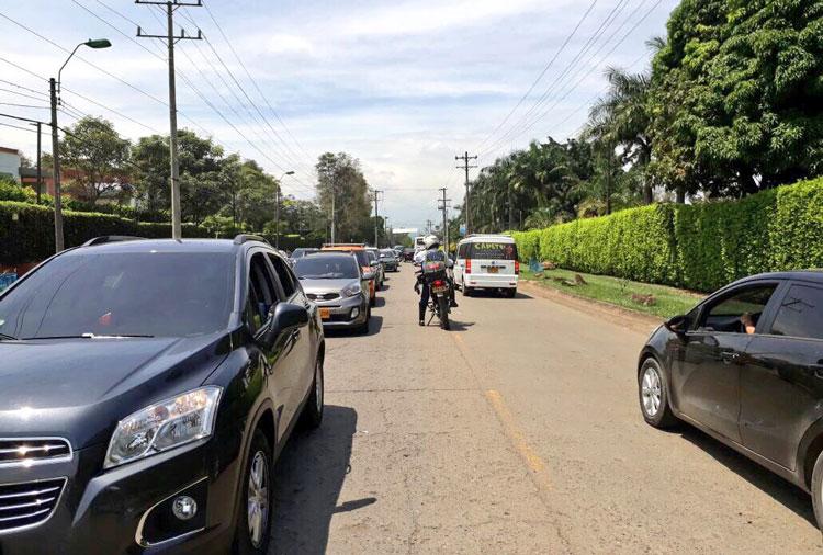 Secretaría de Movilidad pidió a caleños que no subieran a Pance el lunes festivo