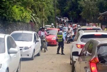 Secretaría de Movilidad respondió a críticas por caos del fin de semana en Pance