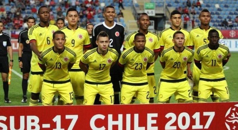 Selección Colombia Sub-17 ya tiene grupo para el mundial FIFA India 2017