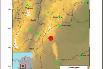 Temblor de magnitud 5,1 con epicentro en Meta se sintió en el Valle del Cauca
