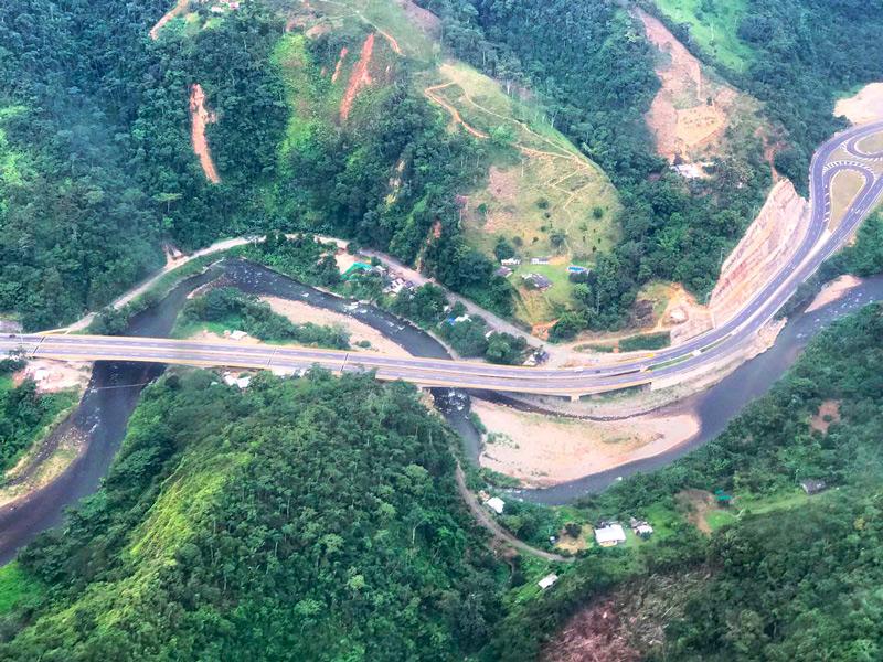 Presidente Santos entrega obras de doble calzada Loboguerrero – Cisneros