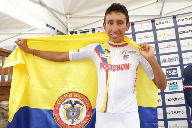 El colombiano Egan Bernal ganó el Tour de L'Avenir en Francia
