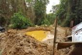 Arremetida contra minería ilegal de oro en Ginebra, Valle