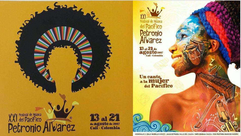 ¿Por qué cambió de imagen el afiche oficial del Festival Petronio Álvarez?