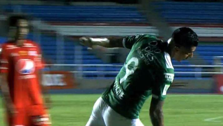 Deportivo Cali derrotó al América de Cali en el partido de ida de la Copa Águila