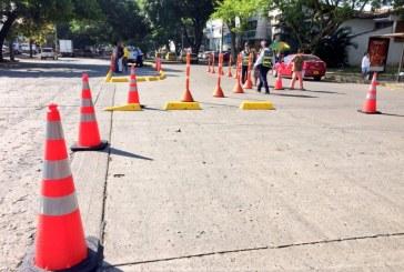 Plan piloto en calle del barrio Tequendama busca reducir índices de accidentalidad