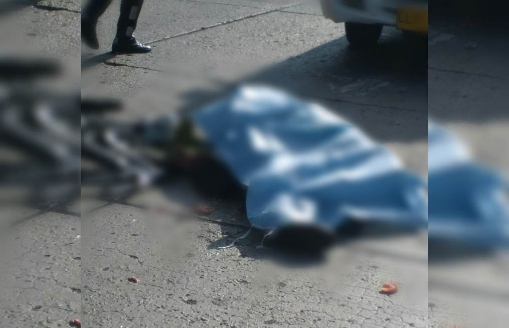Ciclista murió tras ser arrollado por carrotanque en el norte de Cali