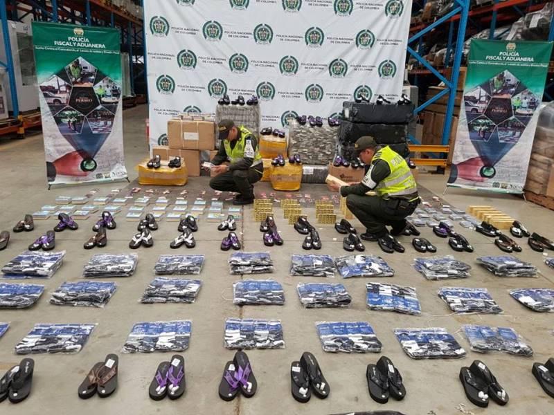 Mercancía de China y México fue incautada por las autoridades en el centro de Cali