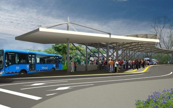 Implementan cambios viales en Valle del Lili por inicio de obras de Terminal Sur