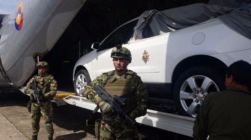 Conozca el plan de seguridad dispuesto por visita del papa Francisco a Colombia