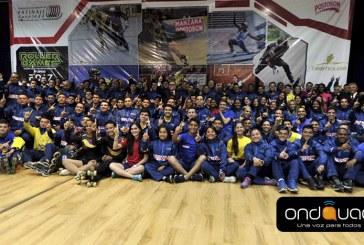 Deportistas colombianos buscarán la gloria en los Roller Games