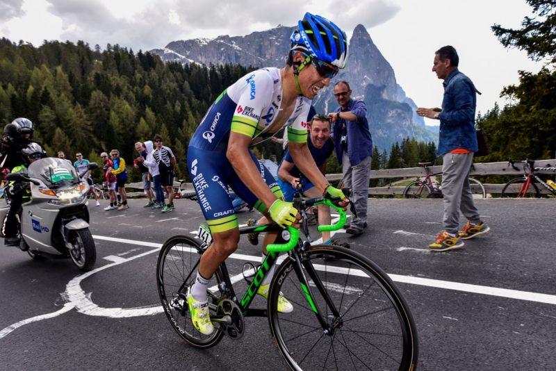 Chaves segundo a tan solo 11 segundos del líder Froome, en la Vuelta a España