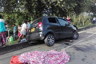 Grave accidente de tránsito dejó dos muertos y dos heridos en Riofrío, Valle