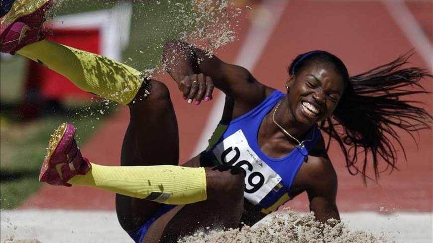 Caterine Ibargüen a dar un nuevo salto para ser la mejor deportista del 2018