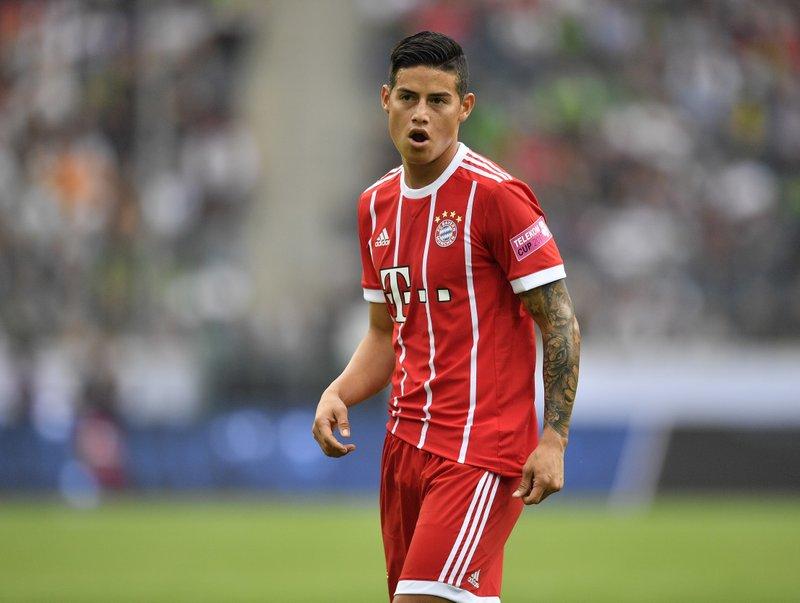 Bayern Múnich estaría pensando en adquirir pase de James Rodríguez