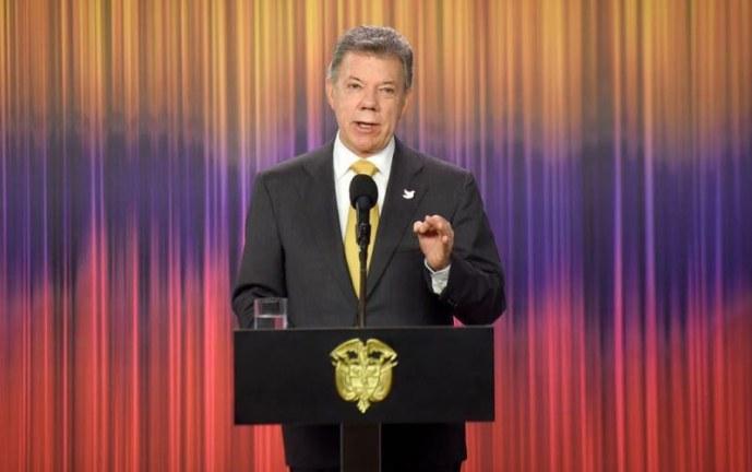 """""""Estamos reanudando la mesa de negociación con el ELN en Quito"""": Juan Manuel Santos"""