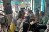 Mujeres se tomaron sede de Medimás para exigir atención de sus hijos
