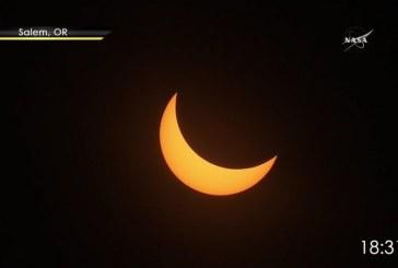 La Nasa transmite minuto a minuto el eclipse total de sol