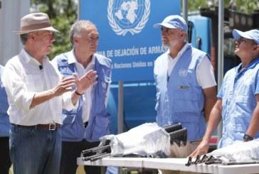 ONU confirmó que las Farc entregaron sus últimas 8.112 armas