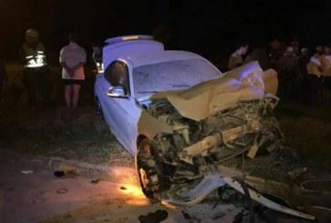 Piques ilegales en Avenida Cañasgordas dejan un joven herido que manejaba un BMW