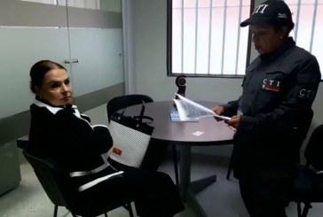 Se entregó en la Fiscalía exalcaldesa y madre del actual alcalde de Cartago
