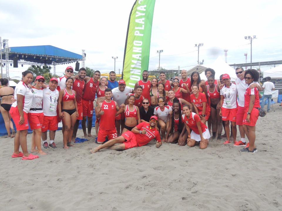 Valle ¡campeón de los Juegos Nacionales de Mar y Playa 2017!