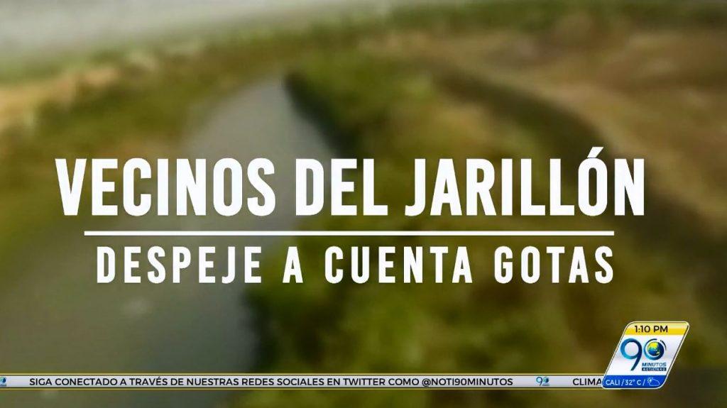 Vecinos del Jarillón – Despeje a cuenta gotas