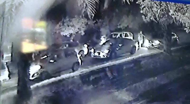 En video: las impactantes imágenes de doble homicidio en el barrio El Caney
