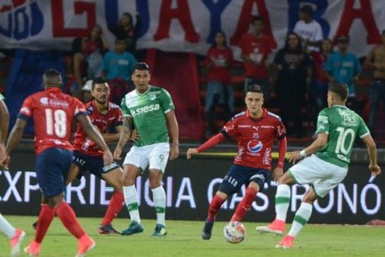 Deportivo Cali empató con Medellín en el partido de ida de semifinal de Copa Águila