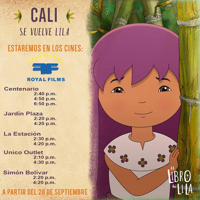 El Libro de Lila es el resultado de más de ocho años de trabajo en Cali a través de la productora Fosfenos Media, en la cual participaron seis egresados de la Facultad de Comunicación Social de la Universidad Autónoma de Occidente.