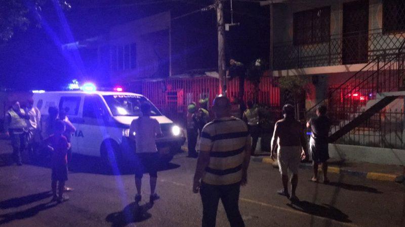 Video: ataque sicarial en el barrio 12 de Octubre tras visita de la Gobernadora