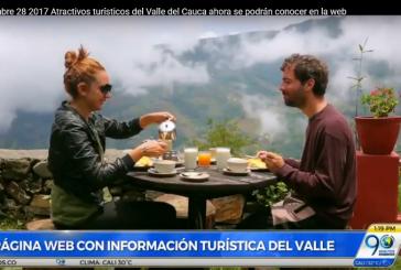 Todos los atractivos turísticos del Valle del Cauca ahora a un solo clic de distancia
