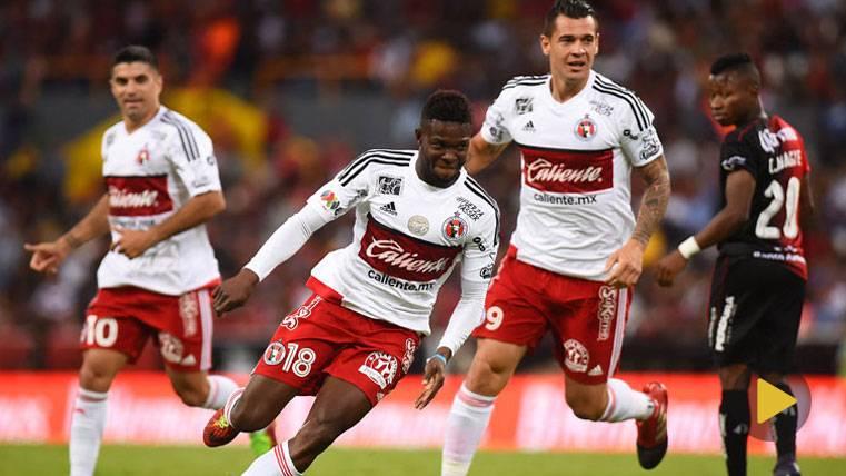 En video: gol del colombiano Avilés Hurtado, nominado al premio Púskas Fifa
