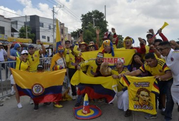 Barranquilla se viste de amarillo para recibir a Colombia en su clasificación al Mundial