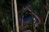 Cuatro personas muertas dejó accidente de bus en una vía del norte del Cauca