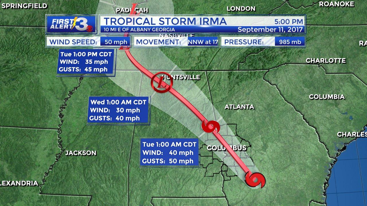 Caleño cuenta el impacto que sufrió Georgia con el paso de la tormenta Irma