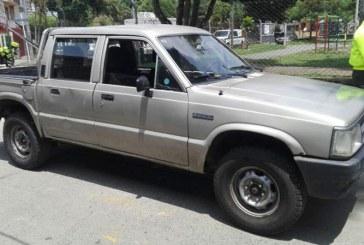 Recuperan camioneta robada a Asodisvalle, fundación de Jeison Aristizábal