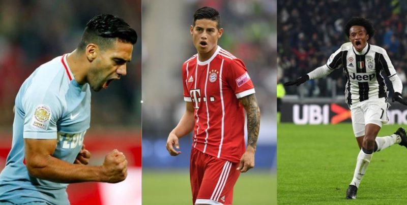 Vea cómo le fue a los futbolistas colombianos en las diferentes ligas del mundo