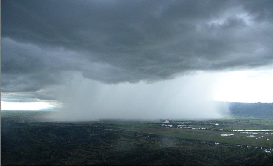 En junio, las lluvias superaron en un 20% el promedio histórico esperado en la región Andina del Valle