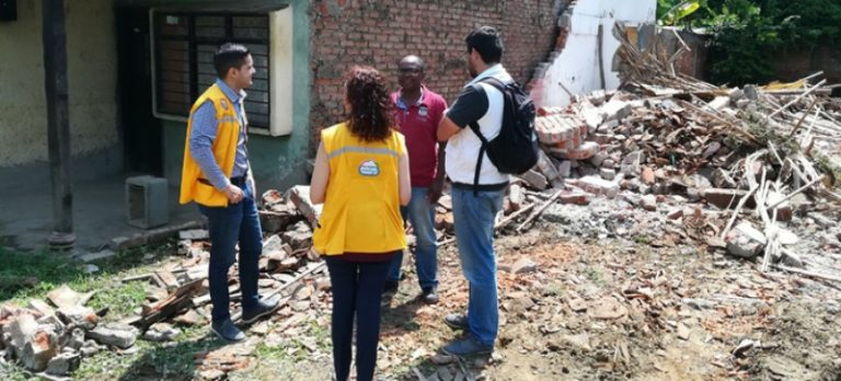 Realizan segunda demolición del barrio Puerto Nuevo, oriente de Cali