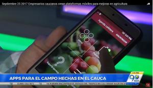 Emprendedores Caucanos crean plataformas móviles para mejoras en agricultura