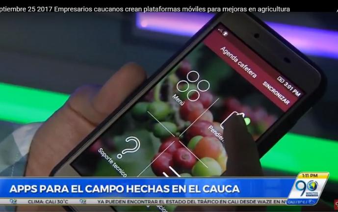 Emprendedores caucanos crearon aplicaciones para facilitar labores del campo