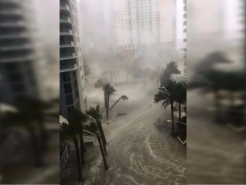 Irma se volvió tormenta tropical tras impactar a Florida, Estados Unidos