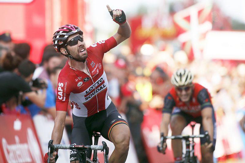 Jarlinson Pantano fue segundo en la etapa 19 de la Vuelta a España