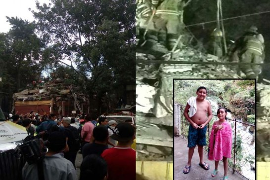 Hijos de caleño radicado en México murieron atrapados en edificio que colapsó tras sismo