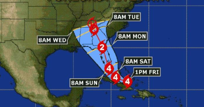 Florida se alista para el impacto del huracán Irma durante el fin de semana
