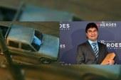 Hurtan camioneta a fundación presidida por Jeison Aristizábal, héroe de CNN