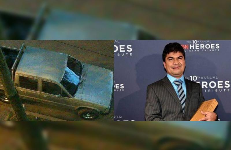 Recuperan camioneta de Yeison Aristizabal fundador de Asodisvalle