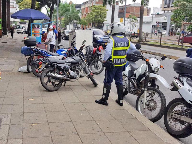 Con ayuda del 'Halcón', recuperan motocicleta robada a agente de tránsito